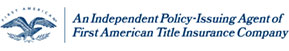 First American title insurance company logo